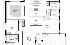 Free Floor Plans For Houses Elegant 4 Bedroom House Plans & Home Designs With Images