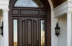 Front Gate Arch Design New A Beautiful Wooden Arch Accentuates The Curved Window Above
