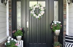 Front House Entrance Design Ideas Lovely 36 Simple Spring Entryway Ideas A Bud