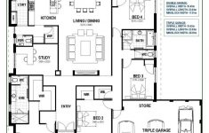 Garage And House Plans Inspirational Floor Plan Friday Open Living With Triple Garage