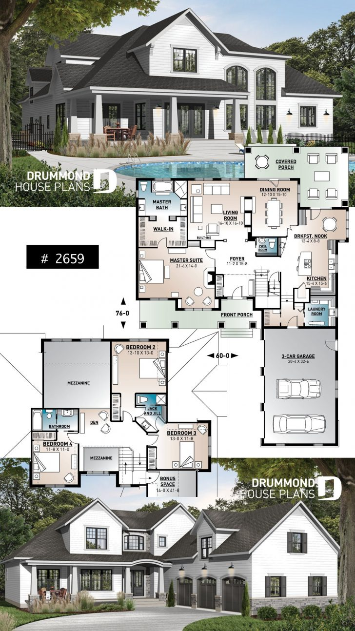 Garage and House Plans 2020