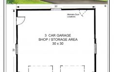 Garage Plans With Cost To Build Luxury 30x30 Floor Garage Plans The Laredo 28x39