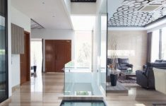 Glass Floors In Houses Elegant House With Creative Ceilings And Glass Floors
