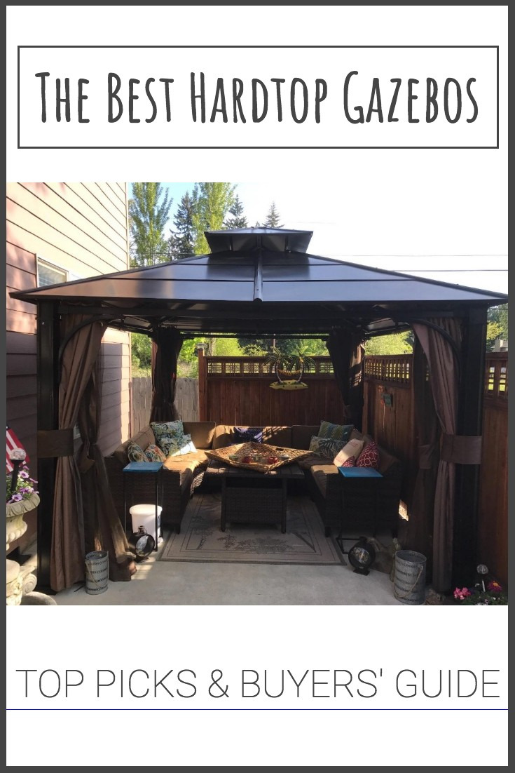 Hard Roof Gazebo Costco New Our Review Of the Best 7 Hardtop Gazebos Of 2020