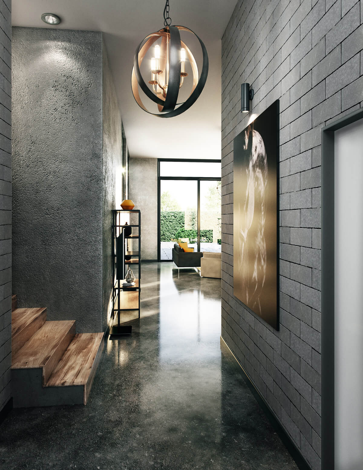 Industrial house design 14