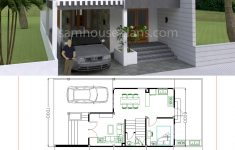Home Plans Free Downloads Luxury House Plans 7x15m With 4 Bedrooms House Plans Free Downloads