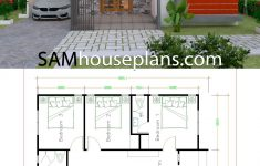 Home Plans Free Downloads New House Plans 10x11 With 3 Bedrooms In 2020