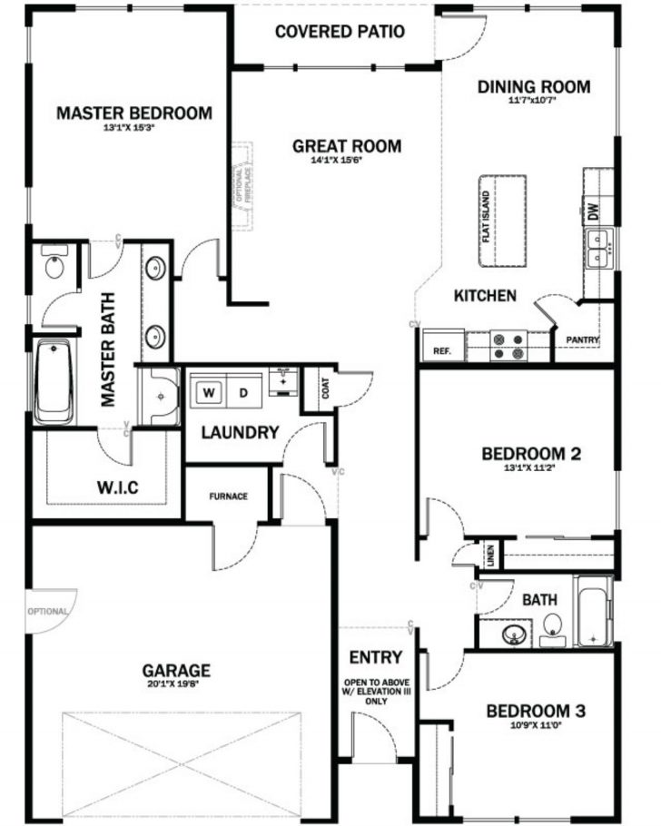 House Plans for Patio Homes 2020