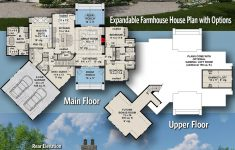 House Plans Over Garage Best Of Plan Rk Expandable Farmhouse House Plan With Options