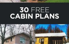 House Plans That Are Cheap To Build New 30 Beautiful Diy Cabin Plans You Can Actually Build