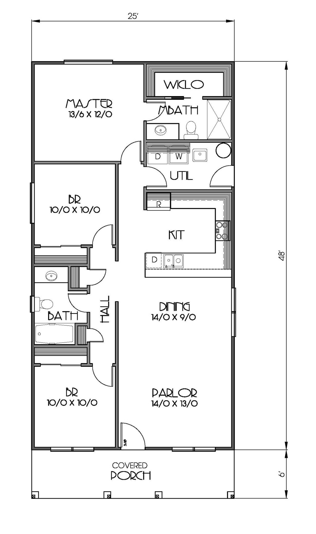 1200 square feet 3 bedrooms 2 bathroom bungalow house plans 0 garage