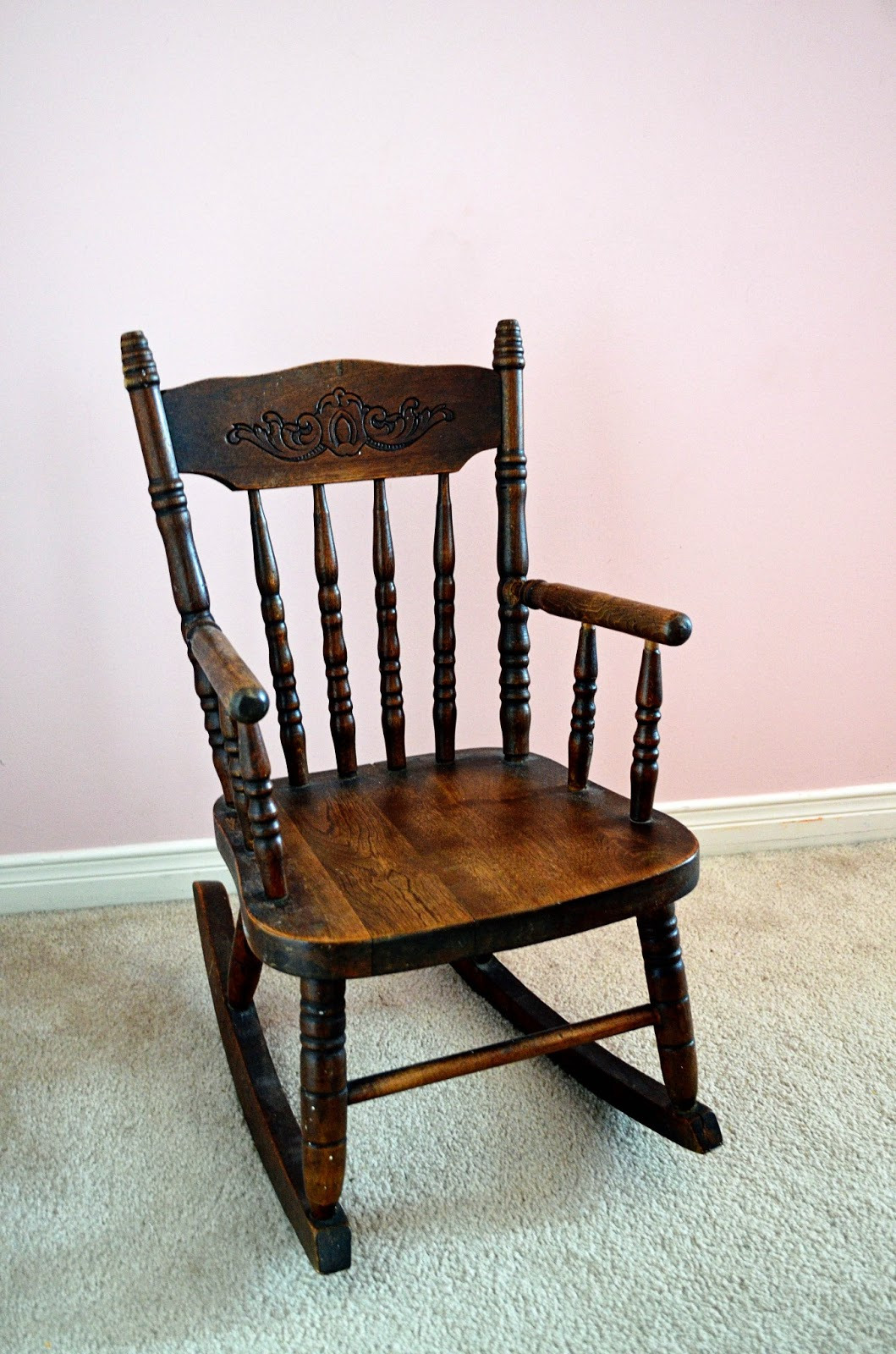 antique child s chair