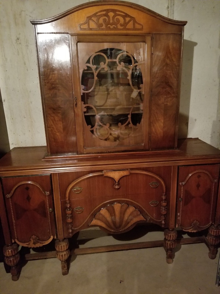 selling antique furniture that needs refinishing x8