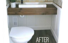 How To Install An Upflush Toilet In Basement New Diy How We Made A Bathroom In Our Basement Without Breaking