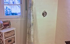 How To Make A Walk In Shower Lovely How To Make An Industrial Style Curtain Rod