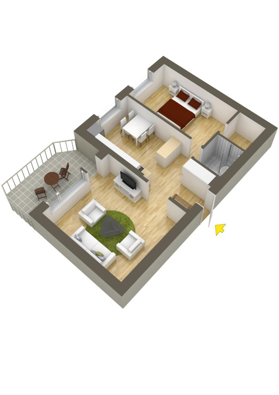 How to Make House Plans for Free Fresh 40 More 1 Bedroom Home Floor Plans