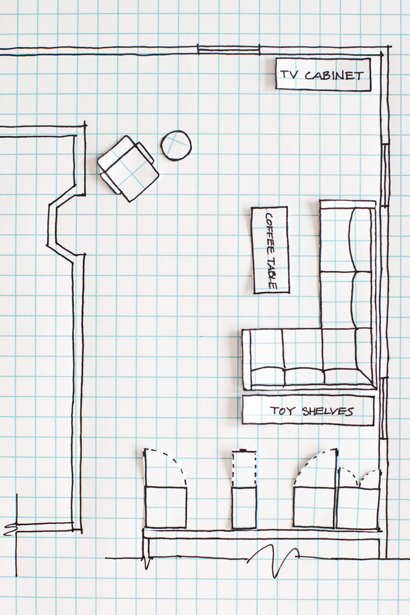How to Make House Plans Luxury How to Draw A Floor Plan A Beautiful Mess