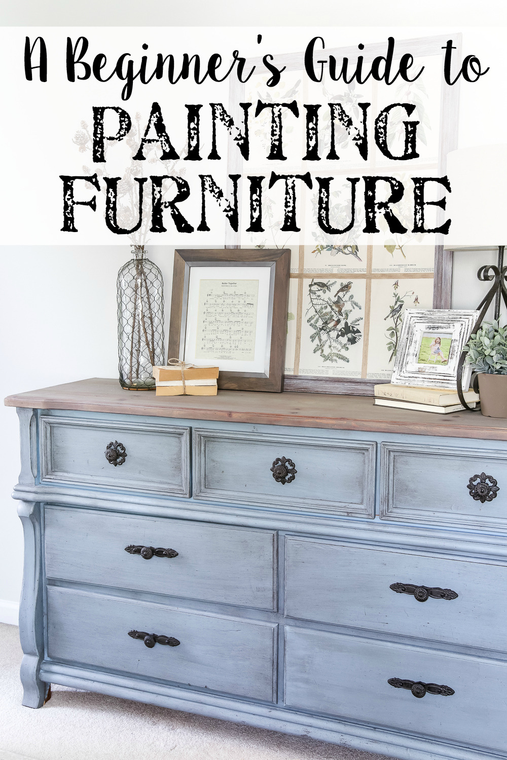 How to Paint Wooden Furniture Antique White Inspirational Beginner S Guide to Painting Furniture Bless Er House