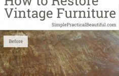 How To Restore Antique Wood Furniture Luxury Restoring A Midcentury Table