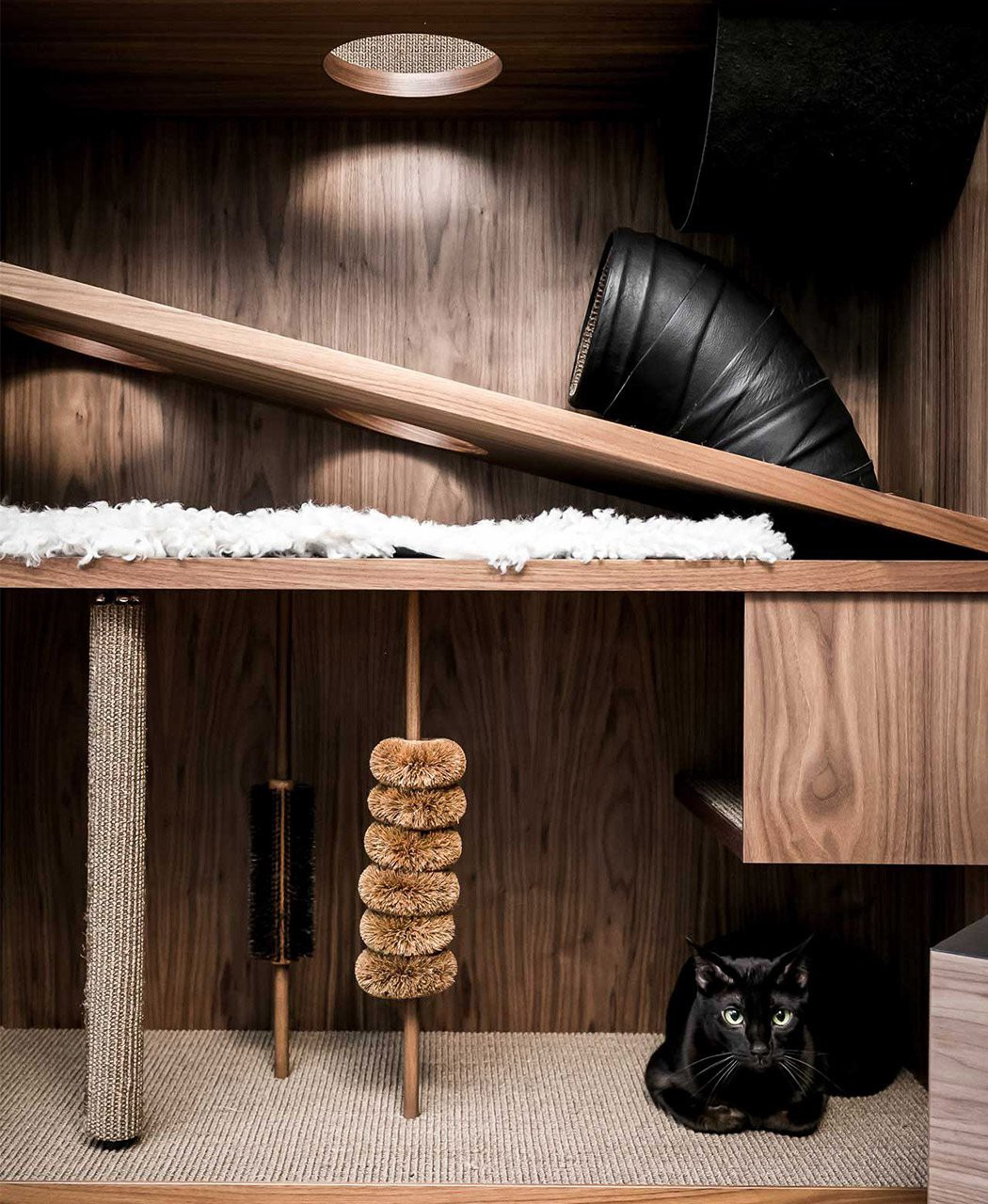 cat house cabinet makes the perfect stealthy furniture c ee13d6