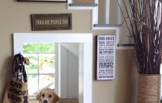 Indoor Dog House Plans Beautiful Indoor Doggy House Under The Stairs I Love The Window