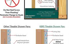 "Kbrs Shower Base Customer Reviews Unique 30"" X 60"" Right Drain Tileable Shower Base Amazon"