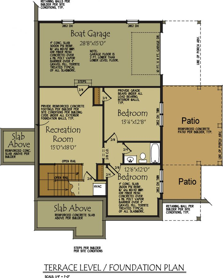 Lake House Plans with Garage 2021