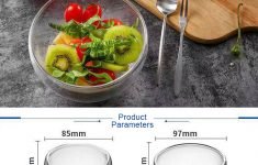 Large Clear Glass Mixing Bowl Luxury Clear Glass Wavy Salad Bowl Mixing Bowl All Purpose Round Serving Bowl Buy Dessert Bowl Glass Glass Bowl Set Glass Mixing Bowl Product On