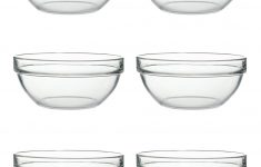 Large Clear Glass Mixing Bowl New Luminarc Tempered 17cm Glass Bowl Transparent