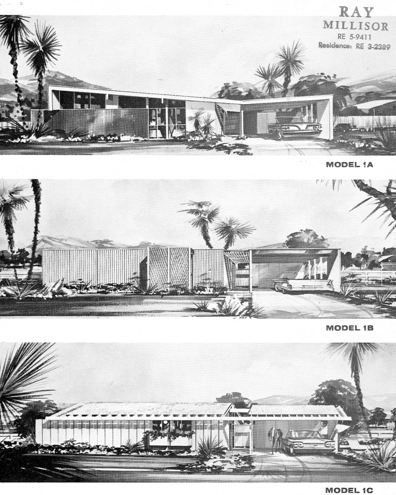 throw back thursday the paradise palms brochures from 1963 the most important mid century modern housing tract in las vegas