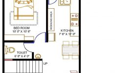 Low Cost House Construction Plans Luxury Floor Plan For 20 X 30 Feet Plot