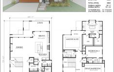 Luxury 2 Story House Plans Inspirational Two Story Urban House Plan E3084