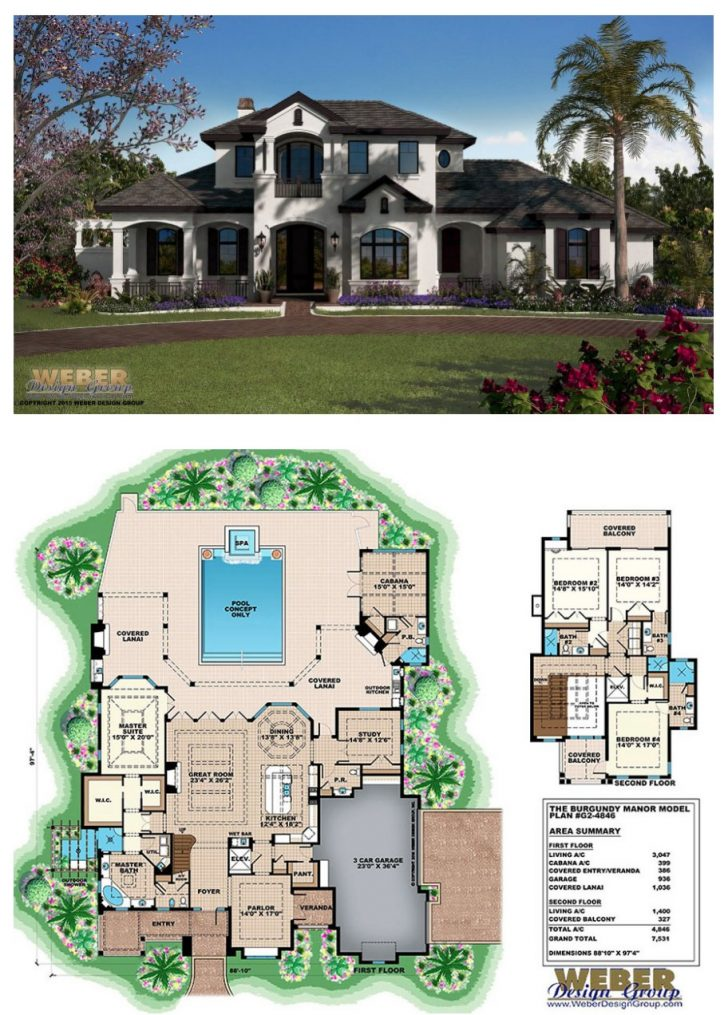 Luxury Contemporary House Plans 2021