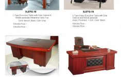 Mdf Table Top Suppliers Elegant Executive Table Supplier [l Type Glass Top Wooden Mdf