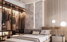 Modern And Elegant Bedrooms Elegant Design Project Of The Apartment 120m2 Moscow On Behance