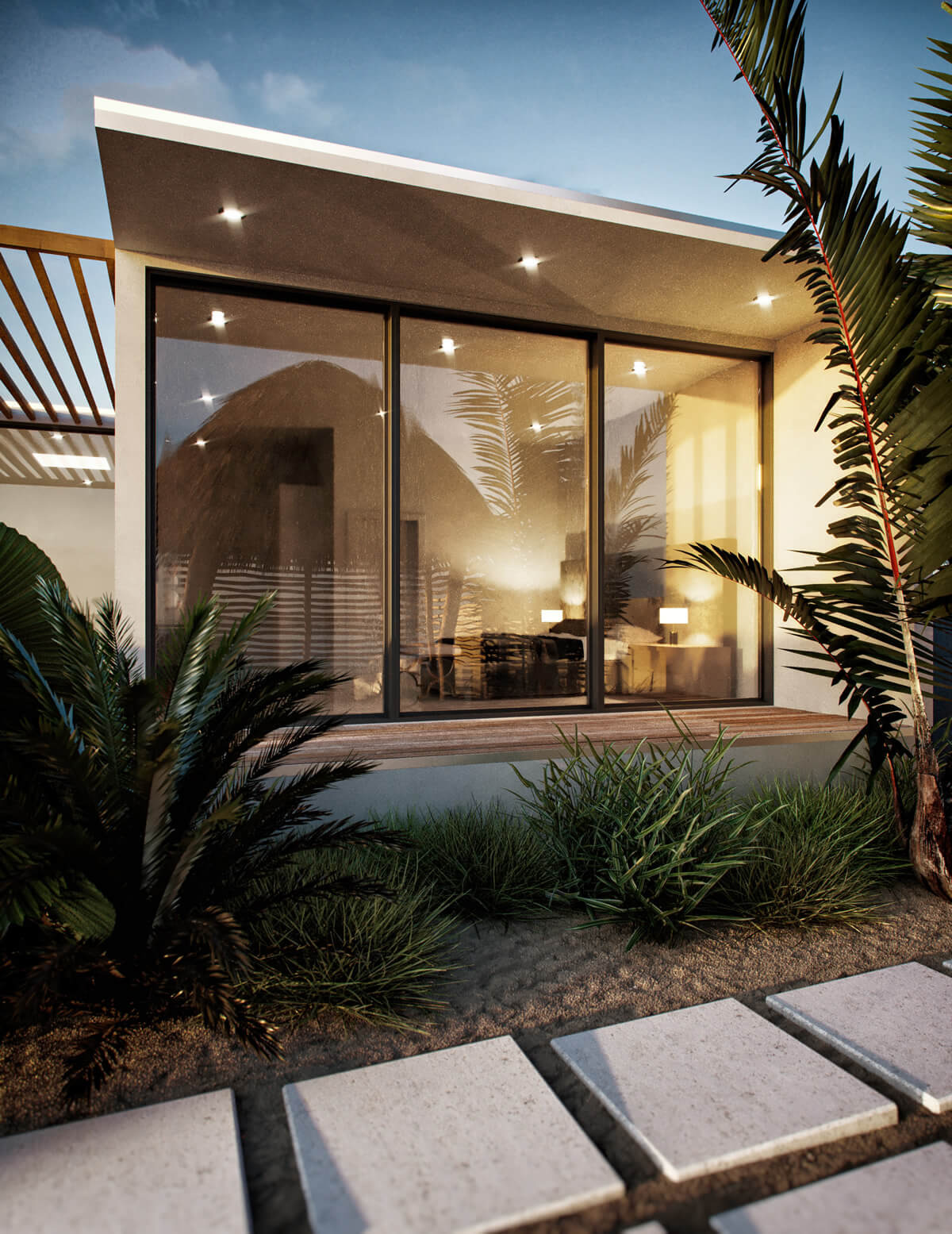 Modern Beach House Design 6