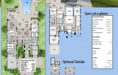 Modern Contemporary House Design With Floor Plan New Plan Bw Marvelous Contemporary House Plan With Options