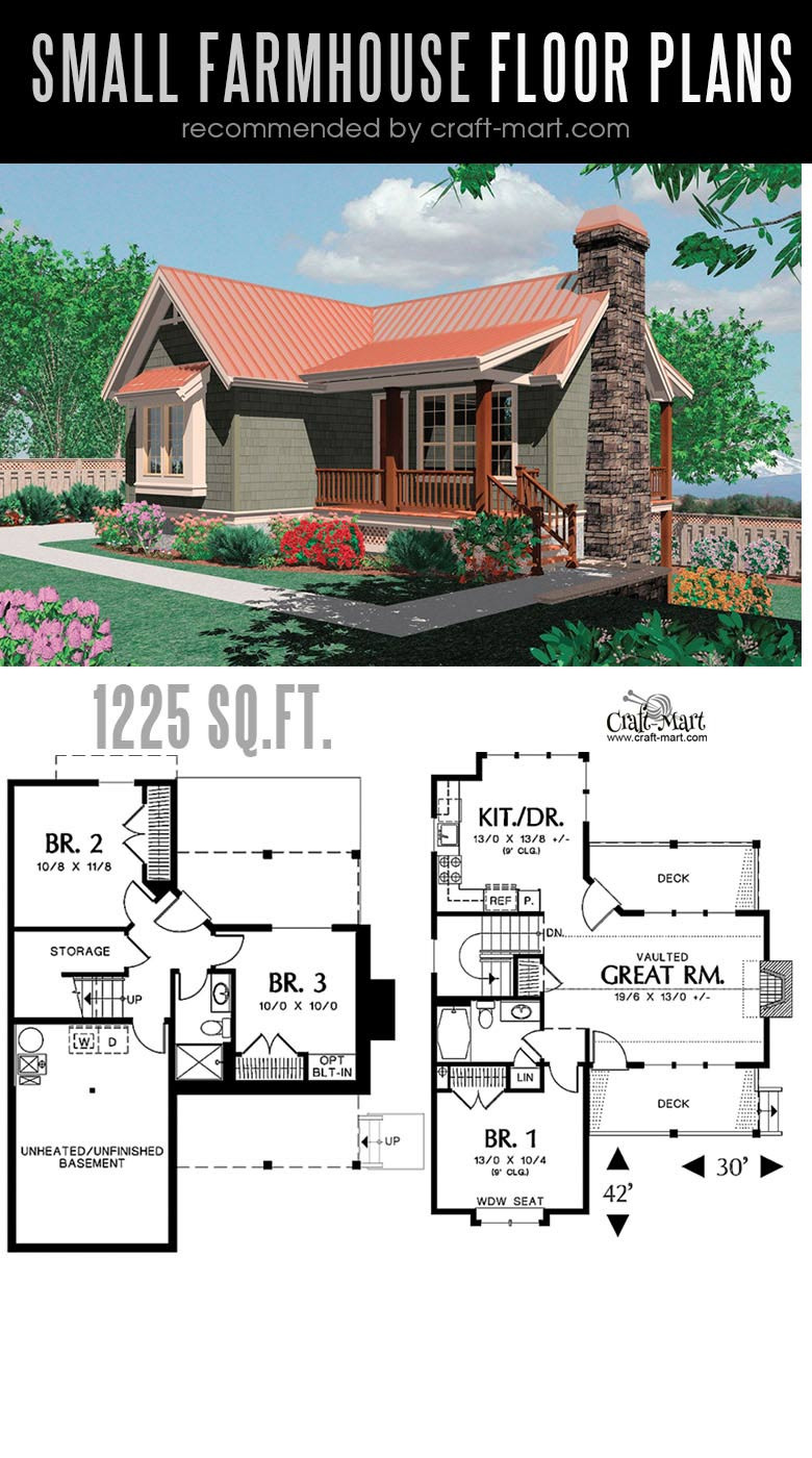 90 small farmhouse plans 8