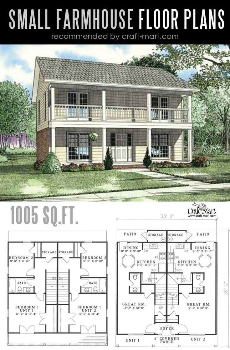 319 Small modern farmhouse plans for building a house of your