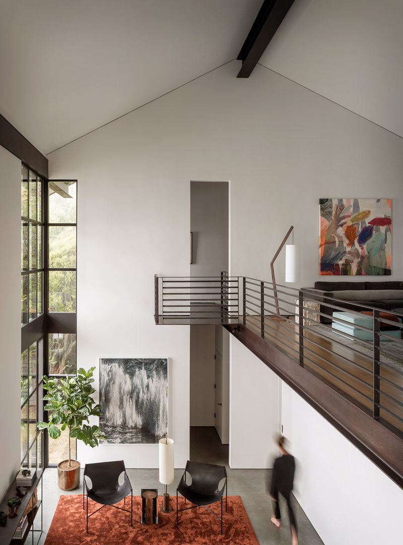 Modern High Ceiling Living Room Best Of High Ceilings and Industrial Materials are Prominent Design