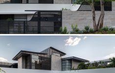 Modern Hillside Home Plans Awesome Sandstone Arches Provide Support For This Hillside House