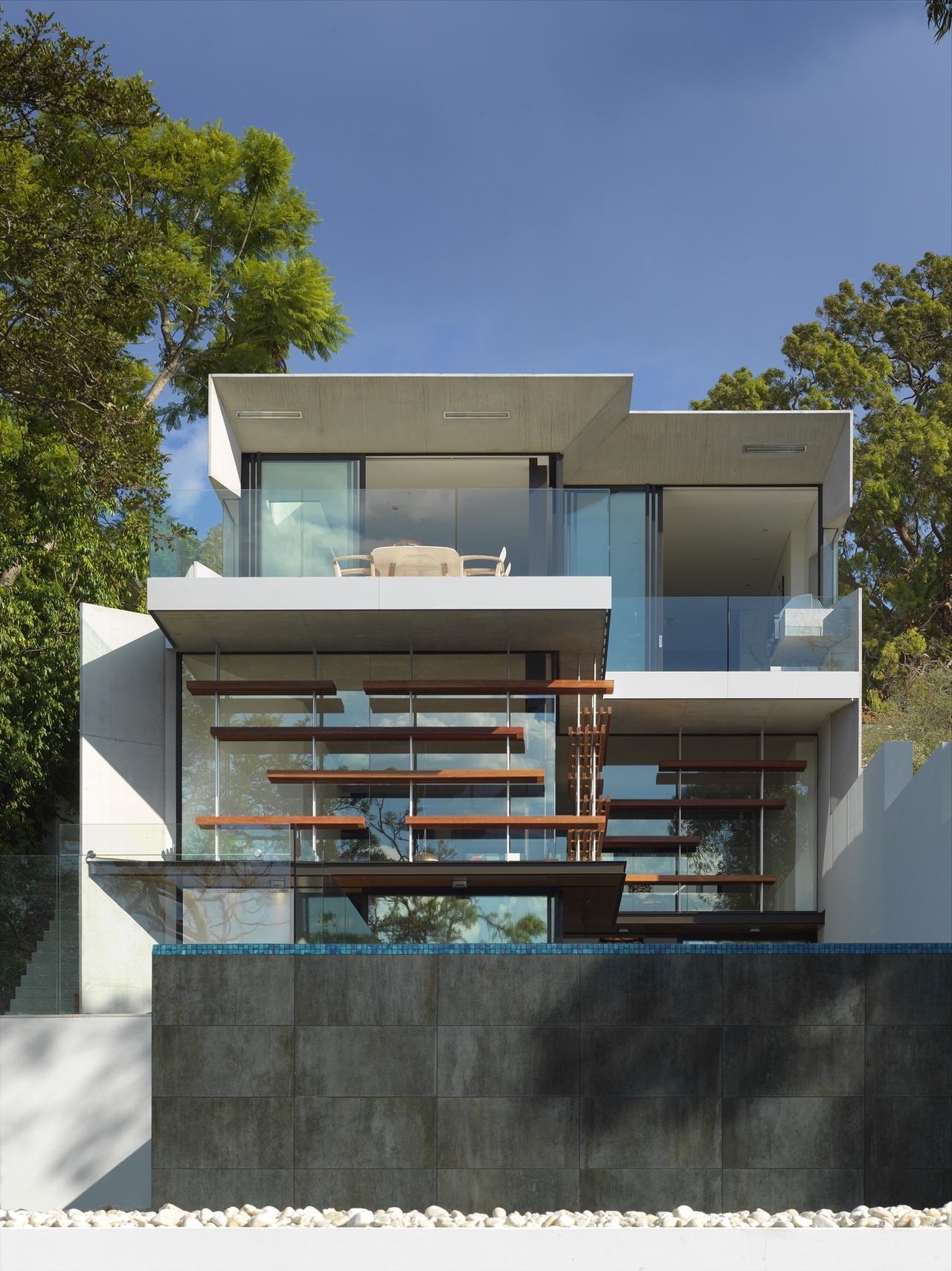 This sustainable house design on sloped land is lesson on modern living Architecture Beast 12 1
