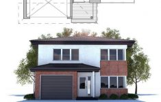 Modern Home Plans For Narrow Lots Luxury Narrow Lot Modern House Plan Floor Plan From Concepthome