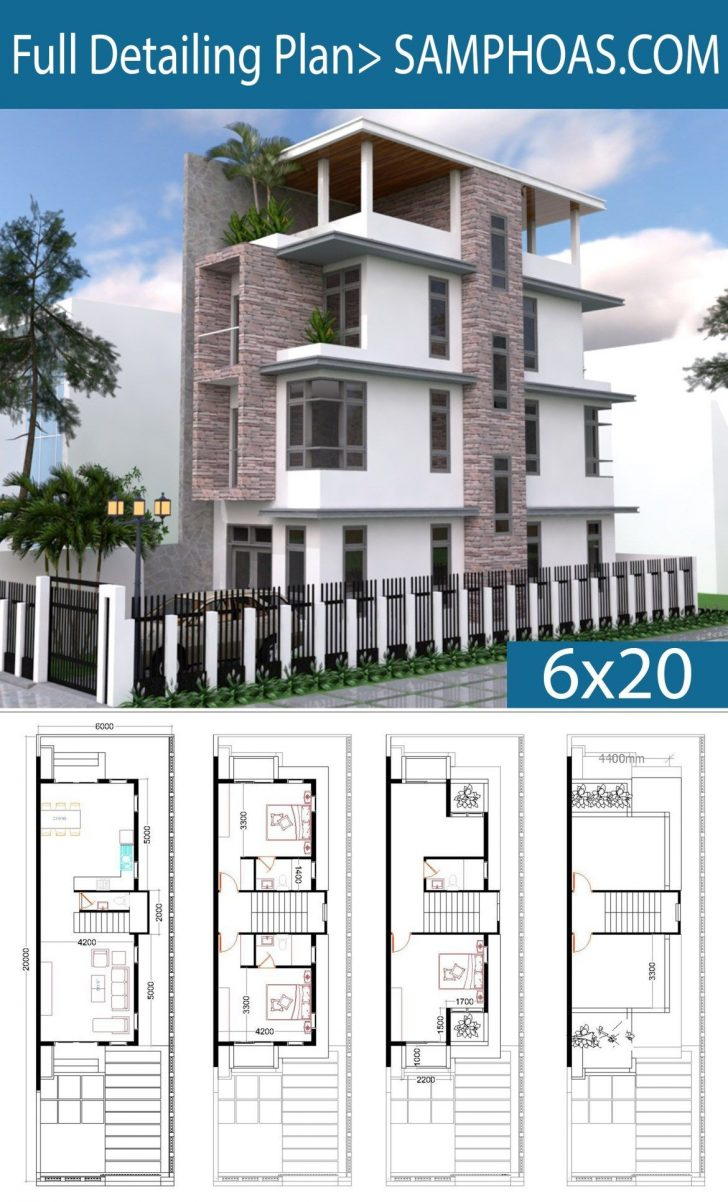 Modern Home Plans for Narrow Lots 2020