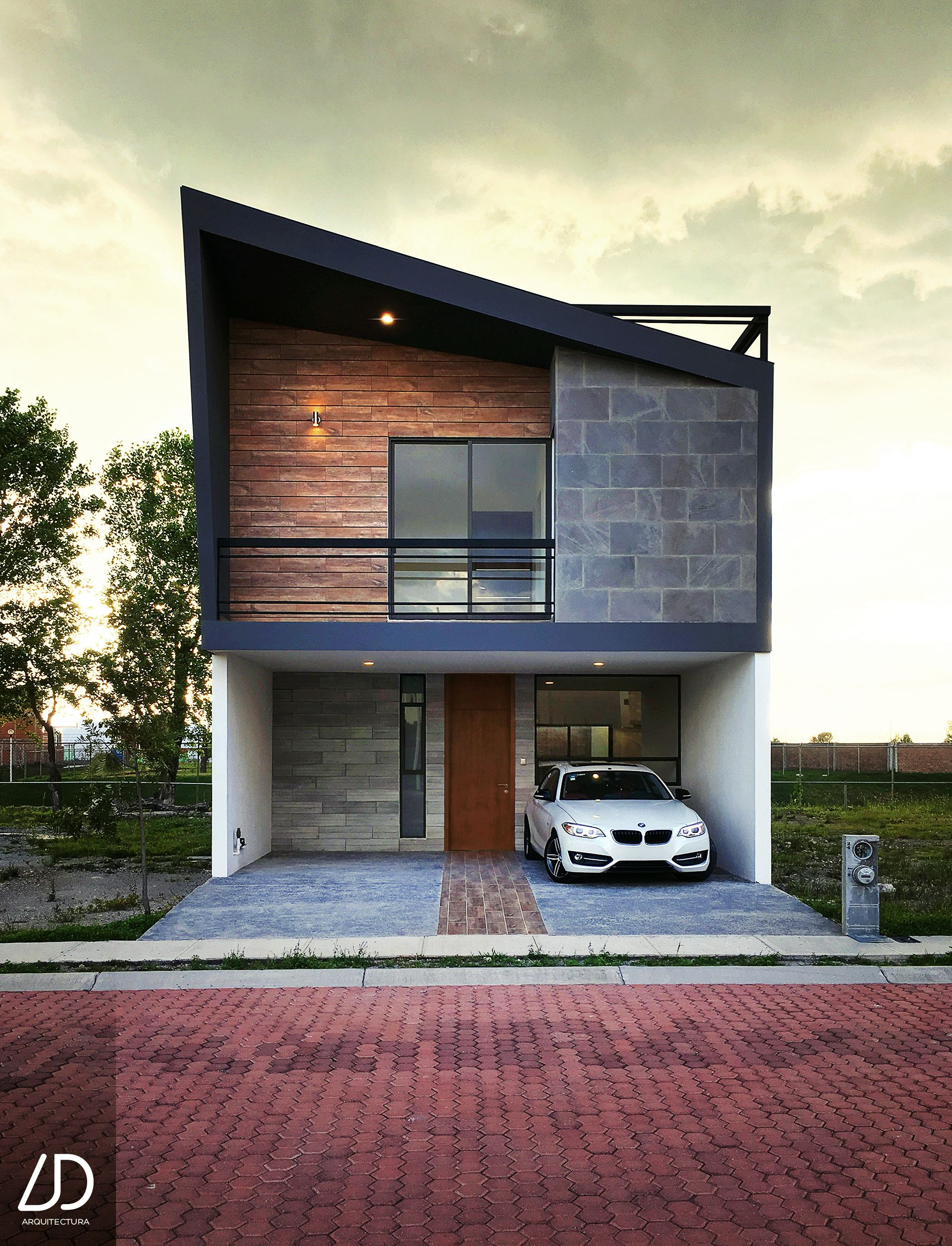 Modern Home Plans for Small Lots Unique 3 Floor House Located In Puebla Mexico with A Contemporary