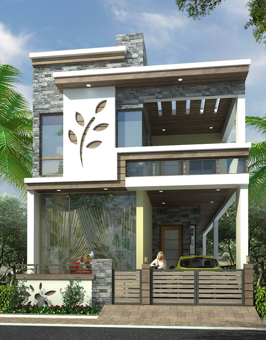 Modern House Designs Pictures Gallery Luxury Gorgeous House Front Designs for Flower Kerala Three