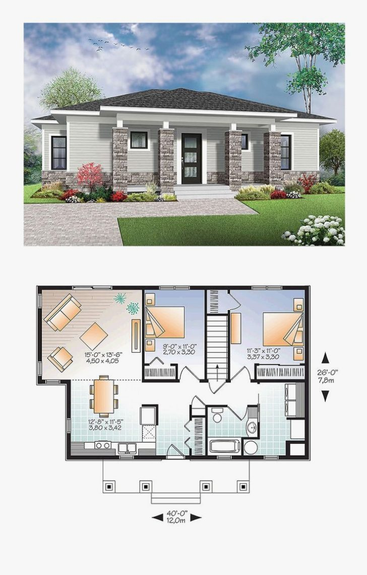 Modern House Floor Plans with Pictures 2020