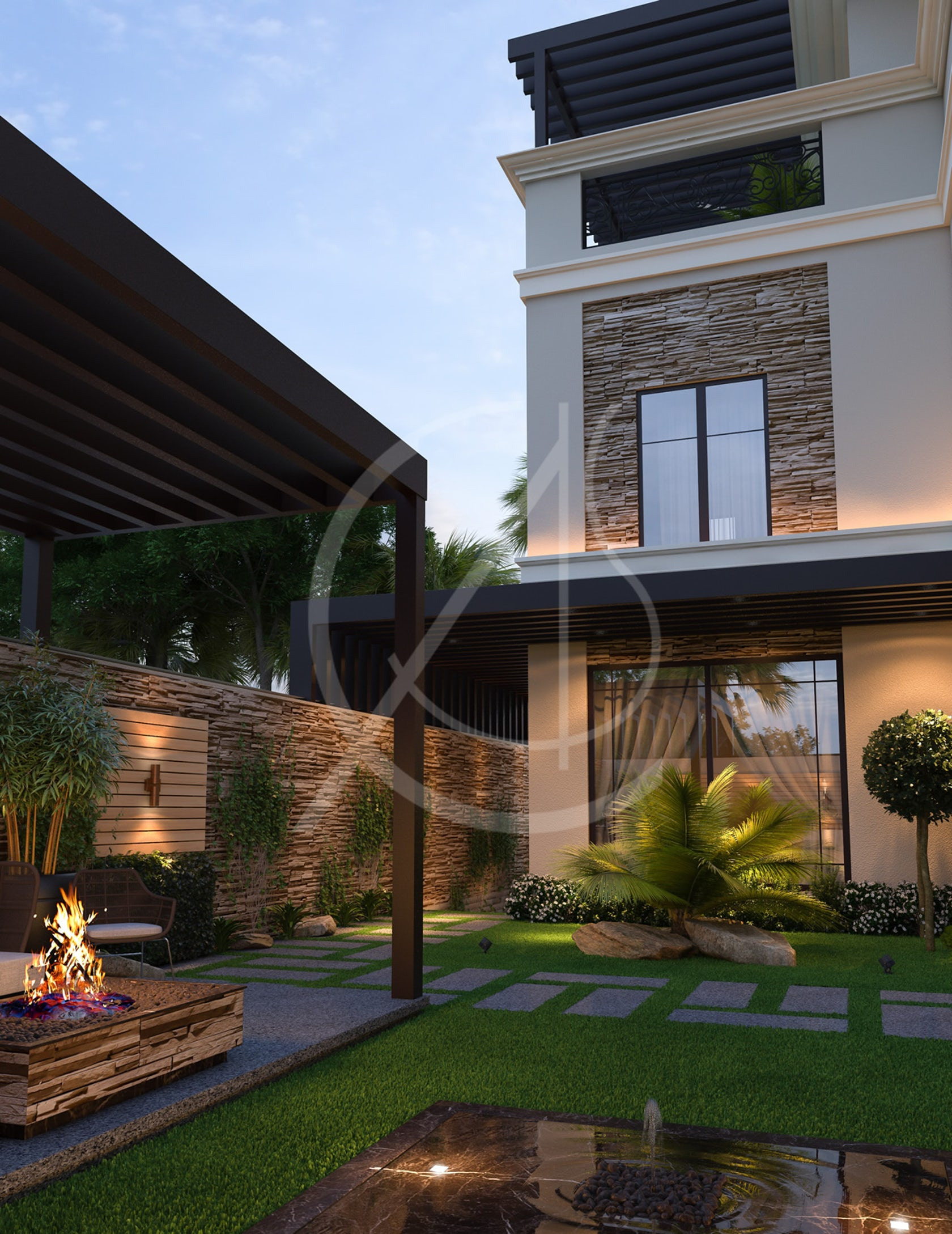 Modern Classic House Design 12