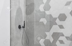 Modern Walk In Shower Inspirational Modern Bathroom In Gray And White With Walk In Shower