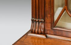 Molesworth Furniture Antiques Roadshow New [cdata[regency Mahogany Breakfront Secretaire Bookcase]]